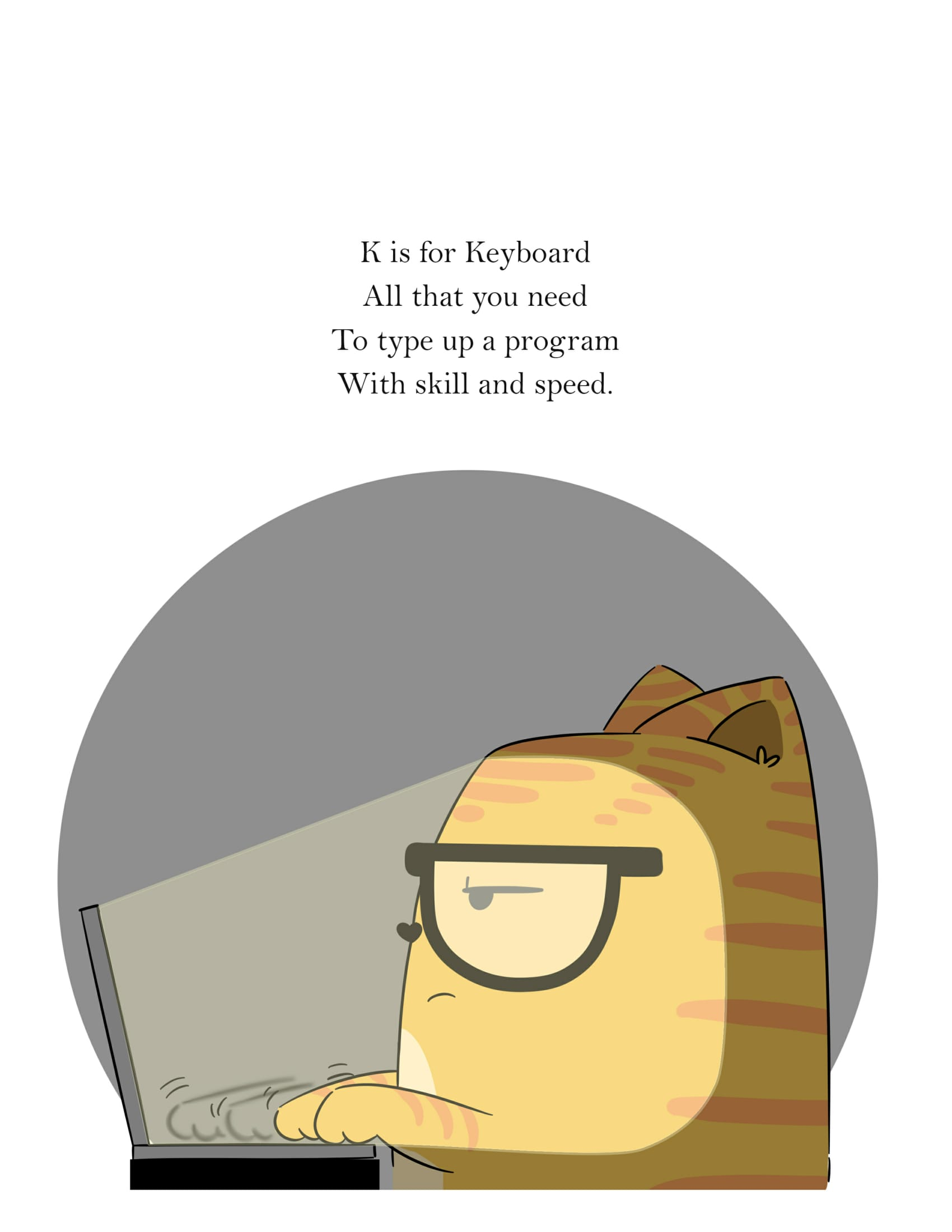 K is for Keyboard